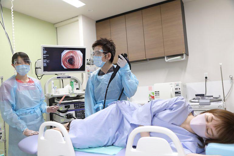 苦痛のない内視鏡検査を受診いただけます
